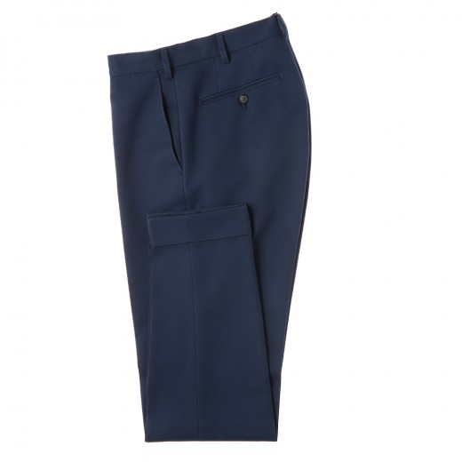 Blue cotton trousers