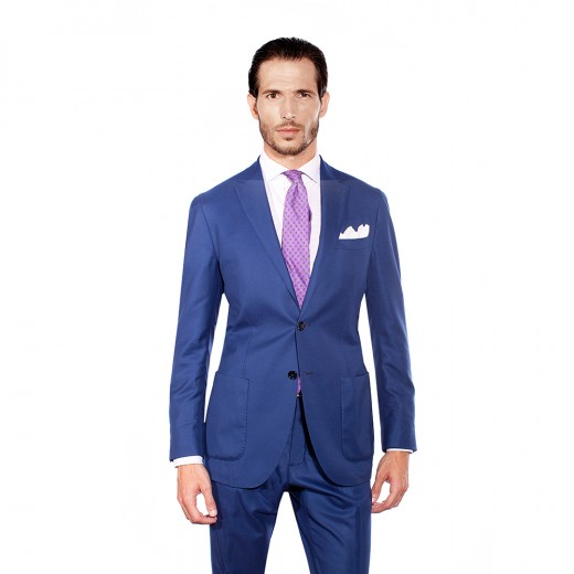 ROYAL BLUE TWO-PIECE SUIT