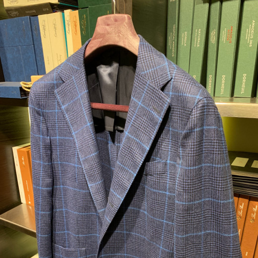 Prince of wales blue jacket