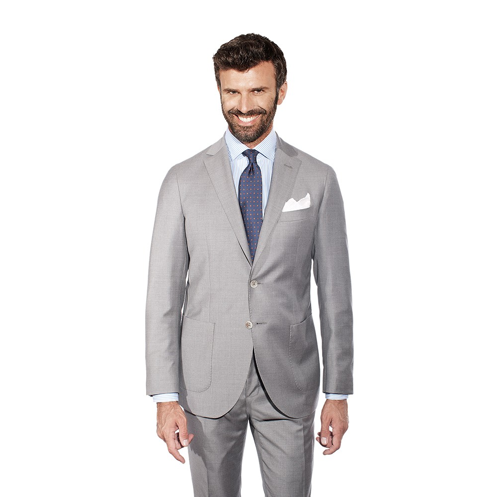 Light Grey Two Piece Suit Lookboards Inspirations Sartoria Vanni 1818 Firenze